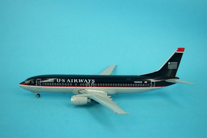 "US Airways (Pintura Azul Obscura) - Boeing 737-400. Alitalia ""FERRARI"""